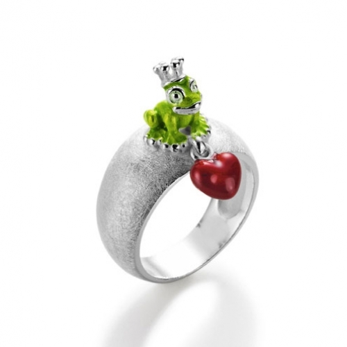 Heartbreaker Ring green Froggy