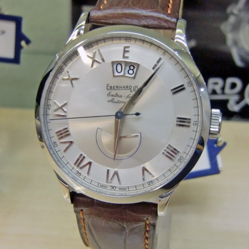 Eberhard & Co Herrenuhr Automatik Extra-Fort XL Date