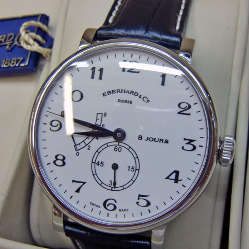 Eberhard & Co Herrenuhr Handaufzug 8 Jours