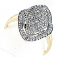 Vilma Righi - Ring mit 104 Diamanten 0,506 ct 585 GG