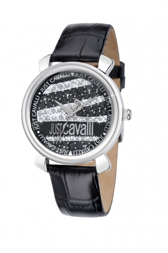 Just Cavalli Damenuhr Glam schwarz