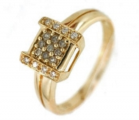 Vilma Righi - Ring mit 17 Diamanten 0,209 ct 585 GG